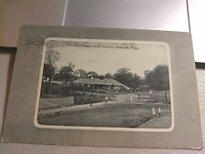 "Roslindale MA Mass  "" Playground & Pavilion ""  Note is dated 1913  Posted"