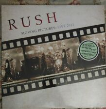 Moving Pictures Live 2011 Rush 180g Vinyl Geddy Lee Neil Peart Tom Sawyer New SS