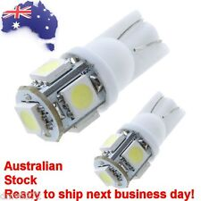 FORD Focus Fiesta Mondeo 2x ULTRA WHITE LED Parking Lights Globes Bulbs upgrade