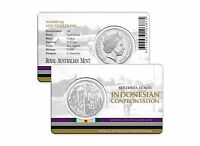 2016 Australia at War Series - Indonesian Confrontation - 50c Coin