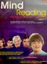 Mind Reading Version 1.3 Cd-Rom Daniel Radcliffe Aka Harry Potter FeaturedRare!