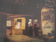 Hamburg: Herdplatz und Hörn in einem Ostenfelder Haus bei Husum 1864