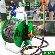 Portable Garden Hose Reel Outdoor Gardening Holder Water Planting Aluminum