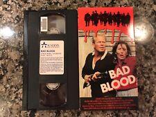 Bad Blood Vhs! 1987 Action! Predator 2 Lethal Weapon 2 RoboCop Dragnet