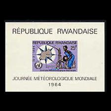 Rwanda, Sc #54A, MNH, 1964, S/S, World Meteorological Day, CL042F