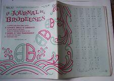 § album ancien LE JOURNAL DES BRODEUSES HS spécial n° 12 - 1968 - grand format