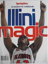 ILLINI MAGIC A season To Celebrate SPORTING NEWS SPECIAL  ILLINOIS BASKETBALL