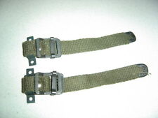 US ARMY WWII MINT CONDITION 2 x STRAPS FOR AN/PRC-2 BC-1306 RADIO BASE,FOR JEEP