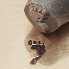 Foot Print - Right Metal Design Stamp By Impressart Metal Jewelry Punch
