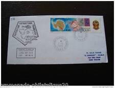 TAAF carta 1/1/2000 - sellos Yvert y Tellier nº266 (cy2)