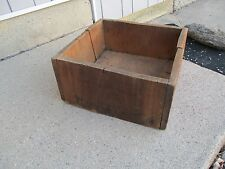 19thC Antique LIGGETT & MEYERS Tobacco Co.~ ST. LOUIS Wood 16 Ounce Lb. Crate