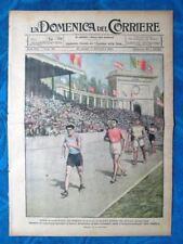 La Domenica del Corriere 29 agosto 1920 Ugo Frigerio - Polonia - Badinguette II