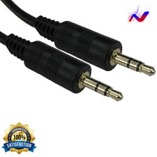 Aux Cable Audio For Iphone MP3 IPod Car Stereo Music 3.5 mm Jack lead Free P&P