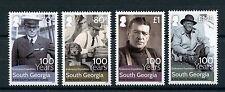Georgia del Sur & Islas De Sandwich 2016 estampillada sin montar o nunca montada Shackleton resistencia expedición 4v Set