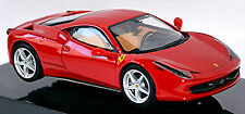 Ferrari 458 Italia Coupe 2009-16 rot red 1:43 Hot Wheels Elite