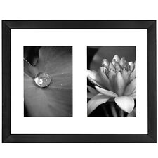 11x14 Collage Picture Frame - Displays Two 5x7 inch Portrait Pictures -