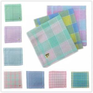 Mens Handkerchiefs Cotton Classic Hankies Square Pocket Handkerchief Accessories