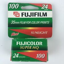 New In Box Fujicolor Super HQ 100 24 EXP Hg29
