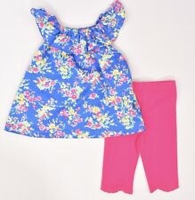 RALPH LAUREN Baby Girls' Adorable 2pc Summer Outfit, Leggings & Top, 12 months