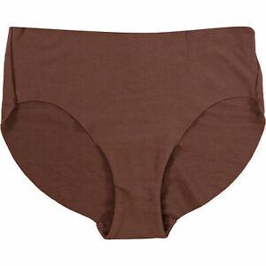 HANRO Women's Underwear -  Invisible Cotton Briefs, Mocha, size S / UK 10-12