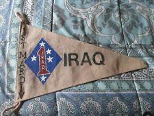 Modern Usmc 1 St Marine Division Iraq Barrack Bar Wall Flag