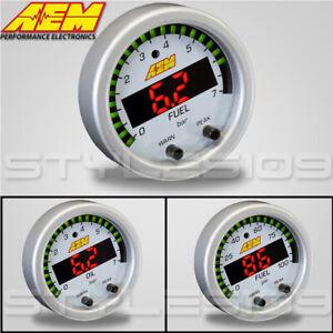 AEM X-Series Electronic PSI / BAR Oil / Fuel Pressure Faceplate - 30-0301-ACC