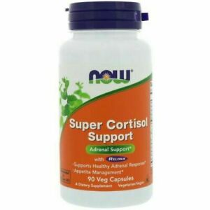 Now Foods, Super Cortisol Support, 90 Veg Capsules Adrenal Support.