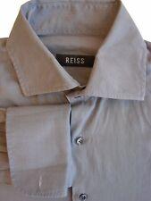REISS Shirt Mens 15 M Grey