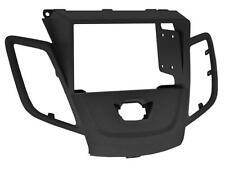 Radio Einbau Set 2 DIN Blende Adapter für Ford Fiesta JA8 schwarz