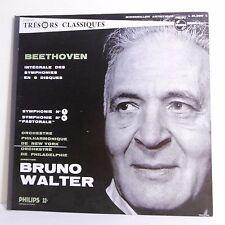 "33T BEETHOVEN Vinyle LP 12"" SYMPHONIE N°1 et 6 PASTORALE Bruno WALTER New York"