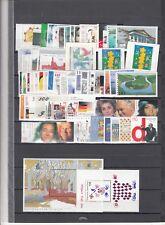 Bund BRD Jahrgang 2000 postfrisch** mit Nominale (Frankatur) und Selbstklebenden