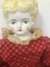 Vintage Porcelain Doll 16�