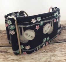 "2"" Sloth Greyhound Martingale, Wide Dog Collar For Sighthounds"