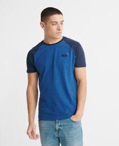 Superdry Mens Orange Label Short Sleeved Baseball T-Shirt