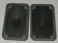 2 Telefunken / Isophone Hitone Speakers Tweeters  speaker ALNICO Magnet for tube