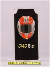 1:12 Pit board pitboard pitboards Helmet Marco Simoncelli 58 to minichamps RARE