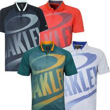 Oakley Mens Golo Short Sleeve Golf Polo Shirt