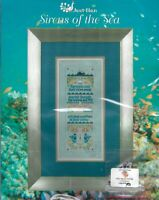 Just Nan SIRENS OF THE SEA JN204 Kit with Floss & Embellishments Mermaids