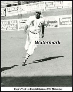 Negro American League NAL Buck O'Neil Kansas City Monarchs 8 X 10 Photo Picture