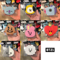 BTS BT21 Official Authentic Goods Hand Mirror COOKY TATA CHIMY KOYA SHOOKY Etc