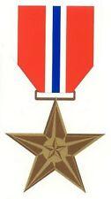 Bronze Star Decal