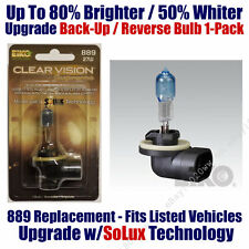 1pk Upgrade Back Up Reverse Bulb up to 80% Brighter 50% Whiter EiKO 889 CVSU-BP