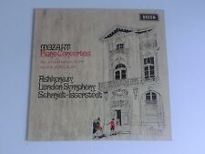 Mozart Piano Concertos Ashkenazy No 20 No 6 Decca SXL 6353 LP