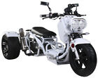 NEW 49cc MADDOG Motor Trike Tricycle 3 wheeler Gas Scooter Motorcycle FREE SHIP!
