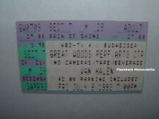 Van Halen 7/9/93 Concert Ticket Stub Great Woods Ma P.A.C. Very Rare Sammy Hagar