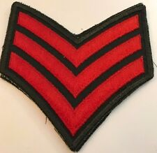 Sergeant's Stripes / Chevrons Rank - Canadian Army Cadets
