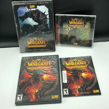 WORLD OF WARCRAFT video game Cataclysm mixed lot soundtrack behind scenes dvd