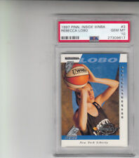 1997 Pinnacle Inside WNBA #3 Rebecca Lobo Rookie Card PSA 10 GEM MINT