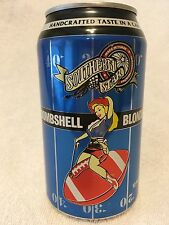 BOMBSHELL BLONDE ALE Beer Can, 12 oz., Southern Star Brewing Co., Conroe, TX