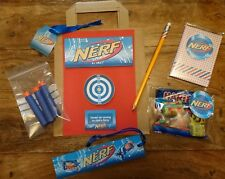 Nerf filled party favour bags for parties